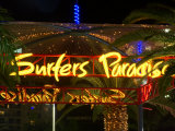 Surfers Paradise Sign, Gold Coast, Queensland, Australia Photographic Print by David Wall