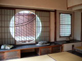 Round Window, Kyoto, Japan Photographic Print by Shin Terada