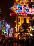 Nanjing Road on The Bund, Shanghai, China Photographic Print by Pete Oxford