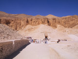King Ramesses Tombs, Valley of the Kings, Egypt Photographic Print by Bill Bachmann