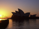 Sydney Opera House at Dawn, Sydney, Australia Photographic Print by David Wall