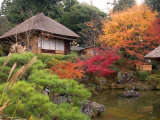 Tea House, Kyoto, Japan Photographic Print by Shin Terada