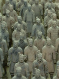 Terra Cotta Warriors and Horses Dig, Xi'an, Shaanxi Province, China, Photographic Print