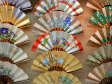 Folding Fan, Kyoto, Japan Photographic Print by Shin Terada