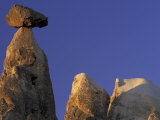 Peri Bacalari or Fairy Chimneys, Cappadocia, Turkey Photographic Print by Art Wolfe