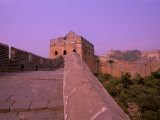 The Great Wall of China, Beijing, China Fotoprint van Bill Bachmann