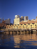 Historic Buildings, The Rocks, Sydney, Australia Photographic Print by David Wall