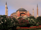 Saint Sophia Church, Hagai Sophia, Istanbul, Turkey Photographic Print by Bill Bachmann