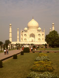 Taj Mahal Monument, Agra, India Photographic Print by Bill Bachmann