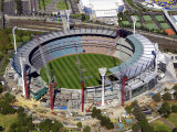 Melbourne Cricket Ground, Melbourne, Victoria, Australia Photographic Print by David Wall