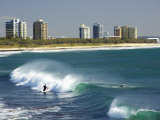 Surfers, Alexandra Headland, Sunshine Coast, Queensland, Australia Photographic Print by David Wall