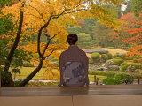 Kimono Lady, Kyoto, Japan Photographic Print by Shin Terada