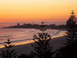 Dawn, Coolangatta, Gold Coast, Queensland, Australia Photographic Print by David Wall