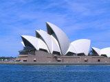Opera House Close-up, Sydney, Australia Fotodruck von Bill Bachmann
