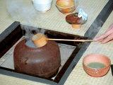 Tea Ceremony, Kyoto, Japan Fotografie-Druck von Shin Terada