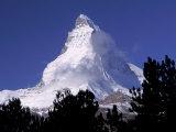 Matterhorn, Zermatt, Switzerland Fotografie-Druck von Art Wolfe