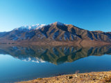 Lake Benmore in Winter, Waitaki Valley, South Island, New Zealand Photographic Print by David Wall