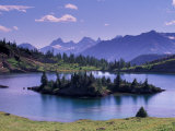 Sunshine Region, Island lake, Banff National Park, Alberta, Canada Photographic Print by Art Wolfe