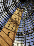 Historical Shot Tower, Melbourne Central Mall, Melbourne, Victoria, Australia Photographic Print by David Wall