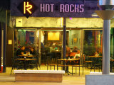 Hot on the Rocks Cafe and Bar, The Strand, Tauranga, New Zealand Photographic Print by David Wall