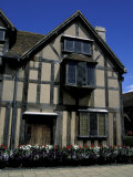 Shakespeare's Birthplace and Childhood Home, Stratford-upon-Avon, England Fotoprint van Cindy Miller Hopkins