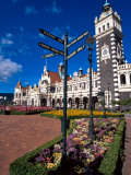 Historic Railway Station, Dunedin, New Zealand Photographic Print by David Wall