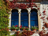 Bled Castle Window, Lake Bled, Bled Island, Slovenia Photographic Print by Lisa S. Engelbrecht