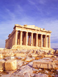 Parthenon on Acropolis, Athens, Greece Fotografie-Druck von Bill Bachmann