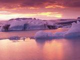 Jokulsarlon Lagoon, Iceland Photographic Print by Art Wolfe