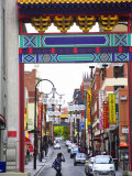 Chinatown, Little Bourke Street, Melbourne, Victoria, Australia Photographic Print by David Wall