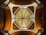 Ceiling of Old Melbourne Gaol, Melbourne, Victoria, Australia Photographic Print by David Wall