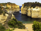 Loch Ard Gorge, Port Campbell National Park, Great Ocean Road, Victoria, Australia Photographic Print by David Wall