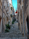 Residential Area off Main Street, Old Town, Dubrovnik, Croatia Photographic Print by Lisa S. Engelbrecht