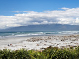 Beach at Westport, West Coast, South Island, New Zealand Photographie par David Wall