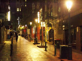 Cobblestone Alleyway, off Collins Street, Melbourne, Victoria, Australia Photographic Print by David Wall