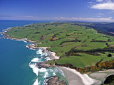 Akatore Creek, South of Taieri Mouth, South Otago, New Zealand Photographic Print by David Wall