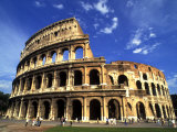 Ruins of the Coliseum, Rome, Italy, Photographic Print
