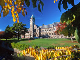 The Clocktower, University of Otago, Dunedin, New Zealand Photographic Print by David Wall