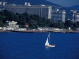 Beach Resort on Black Sea, Mayak Water Park, Port of Sochi, Sochi, Russia Photographic Print by Cindy Miller Hopkins
