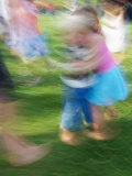 Children Dancing Photographic Print by David Wall