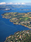 Macandrew Bay, Otago Harbor, Dunedin, New Zealand Photographic Print by David Wall