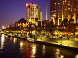 Southgate Centre, Southbank, Yarra River, Melbourne, Victoria, Australia Photographic Print by David Wall