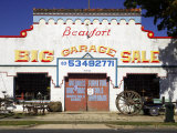 Second-hand Shop, Beaufort, Victoria, Australia Photographic Print by David Wall
