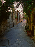 Street Scene, St. Paul de Vence, France Photographic Print by Charles Sleicher