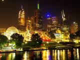 Melbourne, Victoria, Australia Fotografie-Druck von David Wall