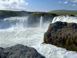 Godafoss Waterfall, Iceland Photographic Print by Lisa S. Engelbrecht