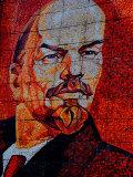 Mosaic Memorial Wall to Lenin, Riviera Park, Sochi, Russia Fotografisk tryk af Cindy Miller Hopkins