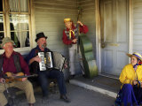 Musicians, Sovereign Hill, Ballarat, Victoria, Australia Photographic Print by David Wall