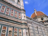 Duomo Church Close-Up in Florence, Italy Photographic Print by Bill Bachmann