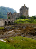 Eileen Donan Castle, Western Dornie in Highlands, Scotland Photographic Print by Bill Bachmann